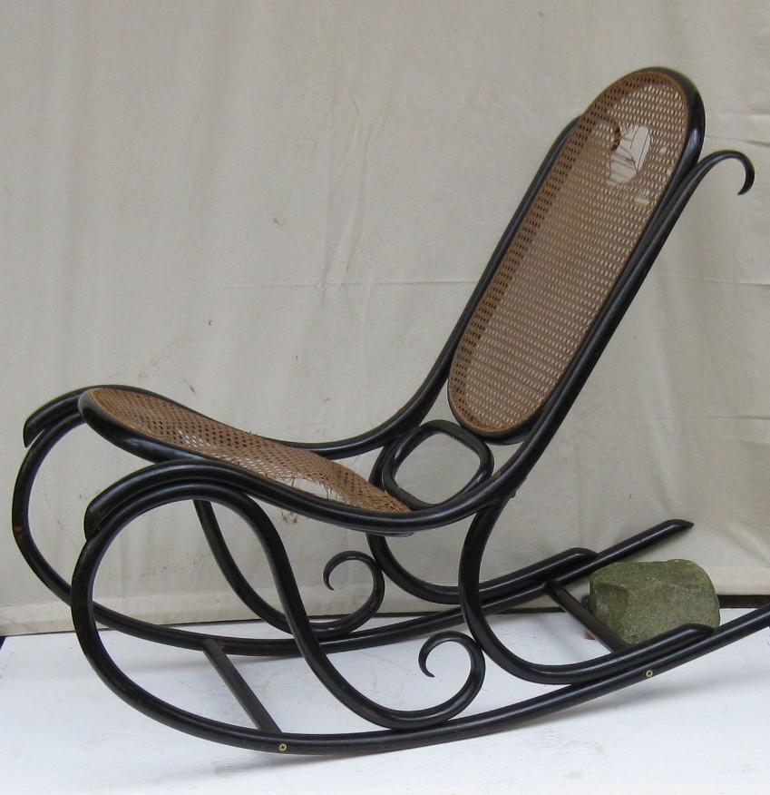 thonet schaukelsessel nr 5 7005 thonet antik ulrich. Black Bedroom Furniture Sets. Home Design Ideas